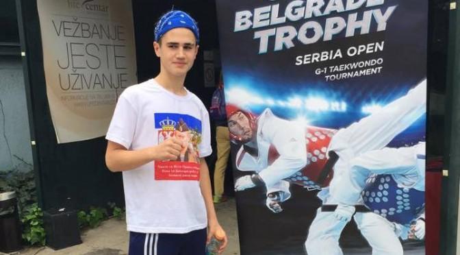 Christian Malki på Serbien Open 2014