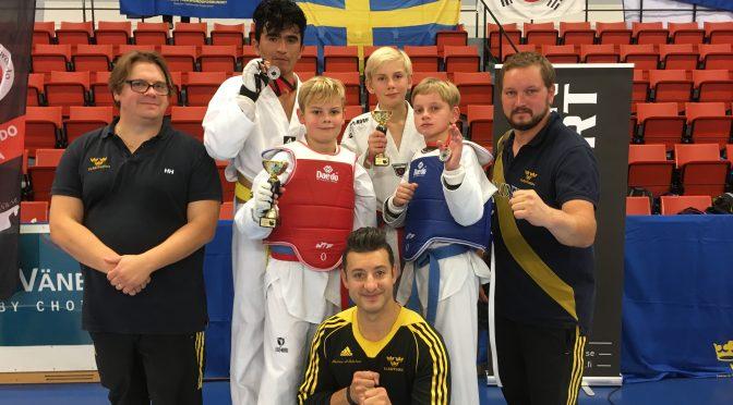 Framgångar under Svenska Cupen 1 och Yoksa Open