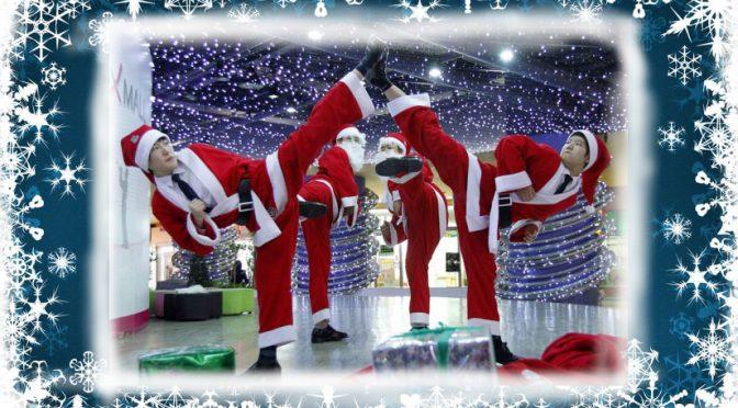 Juluppehåll för KFUM Taekwondo Linköping