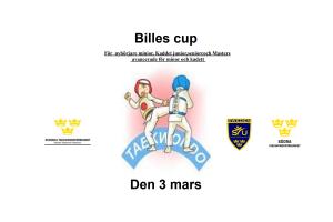 Billes Cup 2018