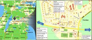 Träningsläger i Poomsae i Fornåsa den 10 Mars