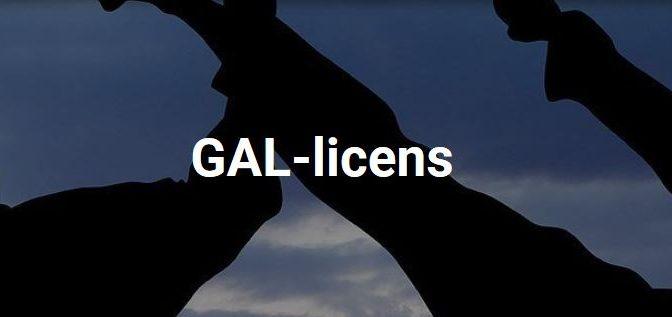 Ska du tävla? Då måste du ha GAL-licens!